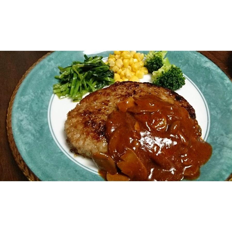 肉 テレビで話題の牛肉100% 牛生 ハンバーグ 190g×10個入 .|toretate1ban|03