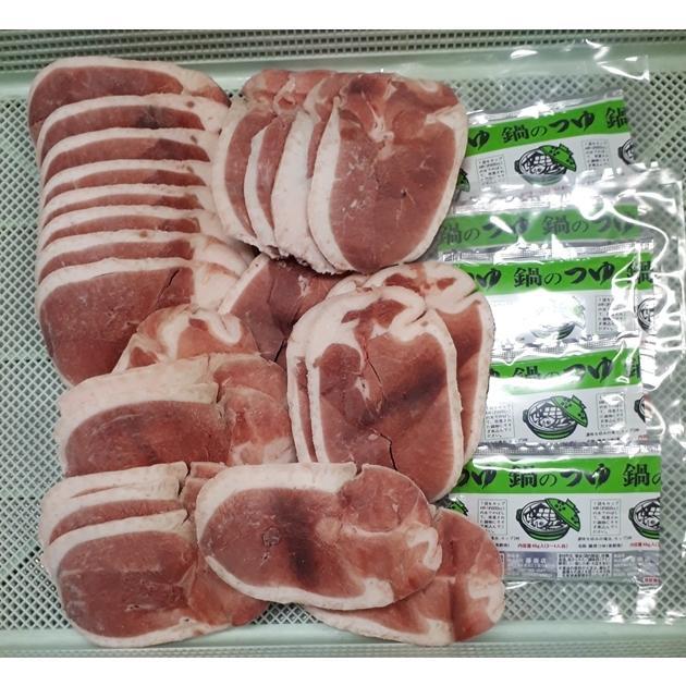本店 鴨鍋 用 国産 合鴨ロース スライス 絶対オススメ 5~6人前 期間限定特別価格 バラ凍結 1kg 鍋つゆ付き