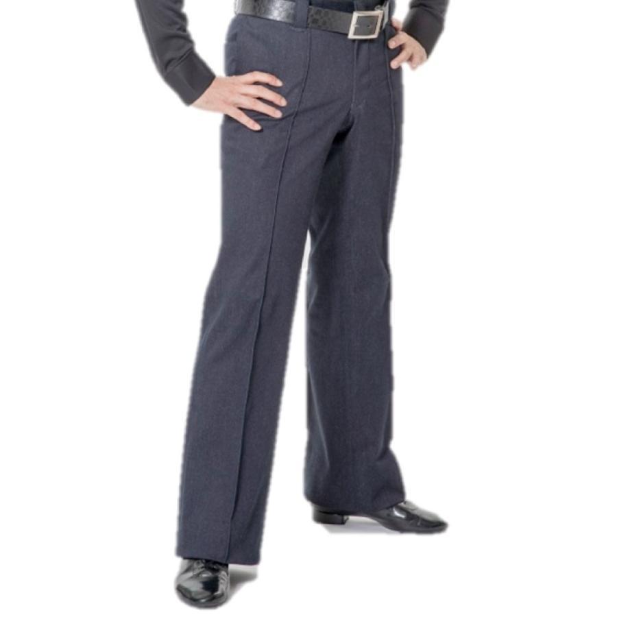 td6001 ストレッチデニムパンツ ネイビー 東京トリキン メンズ 社交ダンス ダンス衣装 torikin21