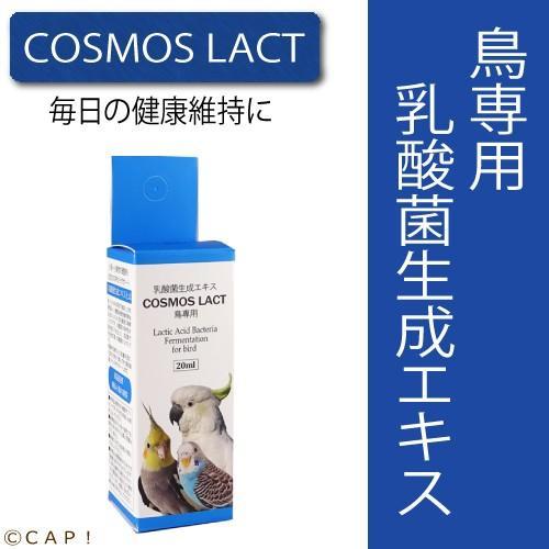 賞味期限2023 毎週更新 4 8 COSMOS 販売 20ml 鳥専用コスモスラクト LACT