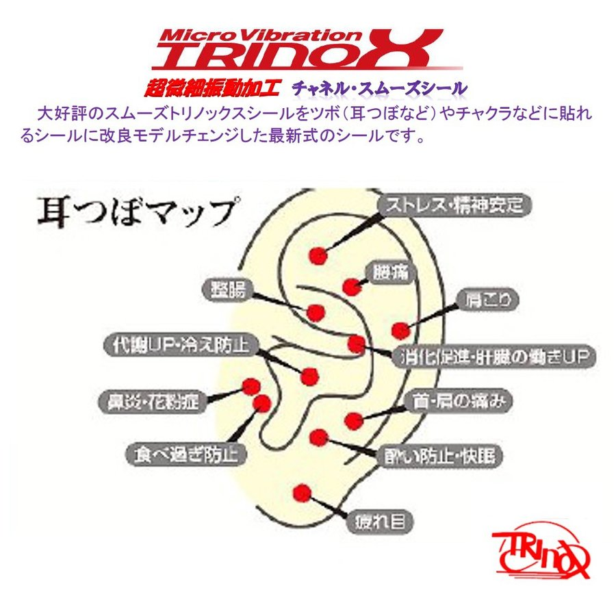 TRINOX トリノックス チャネル スムーズシール 超微細振動 野球 腰痛 健康 バランス 肩こり解消 スポーツ アウトドア|torinox-store|03