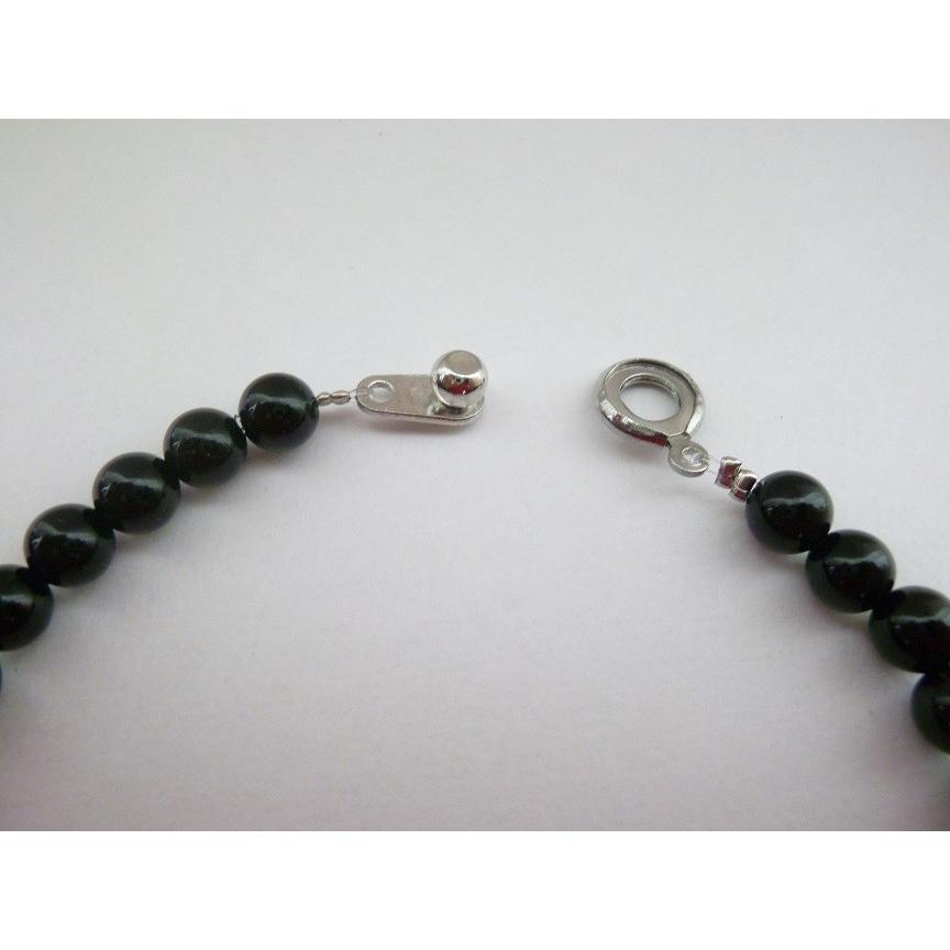 ブラック テラヘルツ ハイパーネックレス テラヘルツ加工 Lサイズ 55cm ボタン オニキス 水晶 チタン 磁気ヘマタイト 6mm テラ鉱石 8mm|torinox-store|11