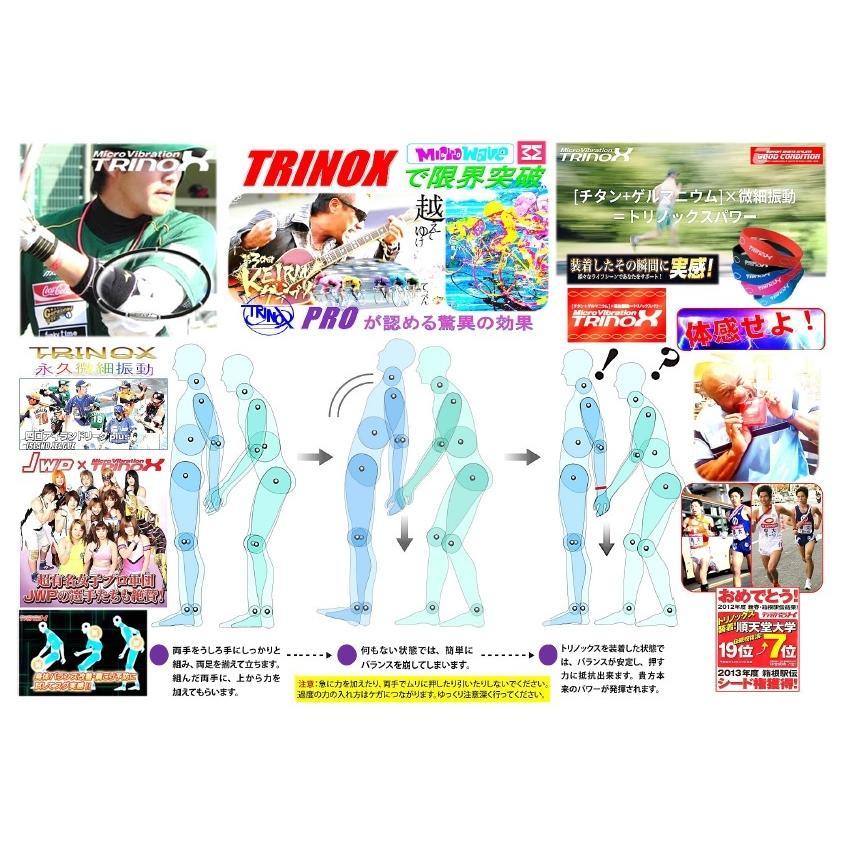 TRINOX テラヘルツ ゲルマパワー・シリコンネックレス テラヘルツシール 8枚 付き ブラック M L|torinox-store|14
