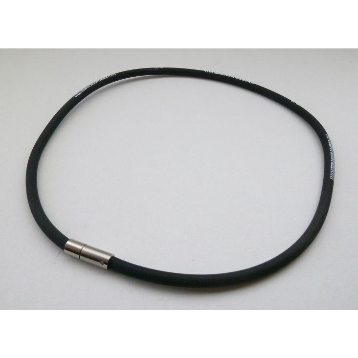 TRINOX テラヘルツ ゲルマパワー・シリコンネックレス テラヘルツシール 8枚 付き ブラック M L|torinox-store|03