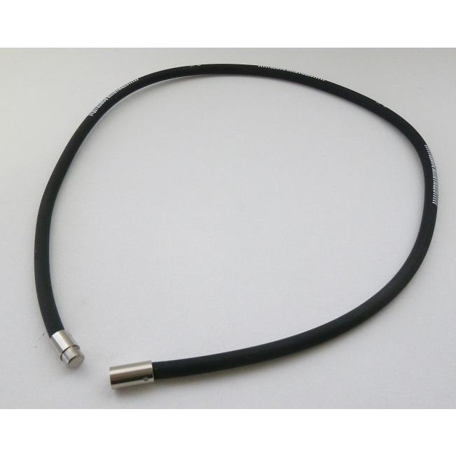 TRINOX テラヘルツ ゲルマパワー・シリコンネックレス テラヘルツシール 8枚 付き ブラック M L|torinox-store|04