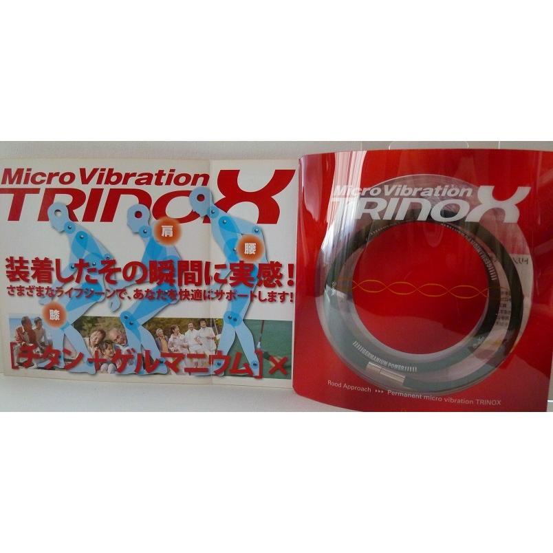 TRINOX テラヘルツ ゲルマパワー・シリコンネックレス テラヘルツシール 8枚 付き ブラック M L|torinox-store|08