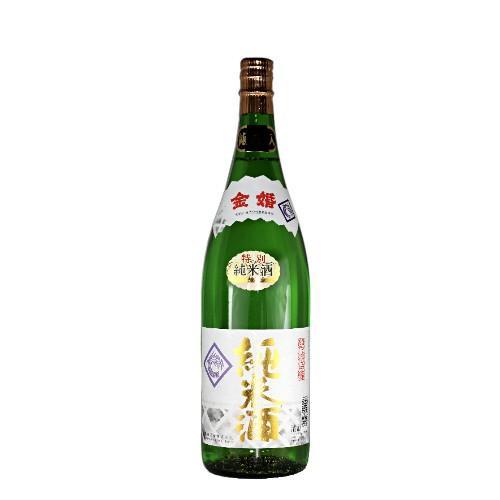金婚 特別純米酒 金箔入 1.8L toshimaya