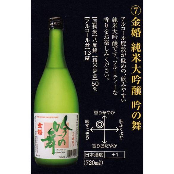 金婚 純米大吟醸 吟の舞 720ml|toshimaya|02