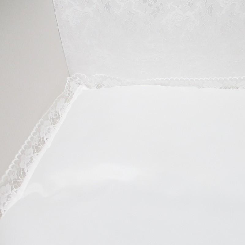 ペット棺桶「虹」(ホワイト) ※チワワ、Mダックス、トイプードル等の小型犬や猫向け toshin3939 04