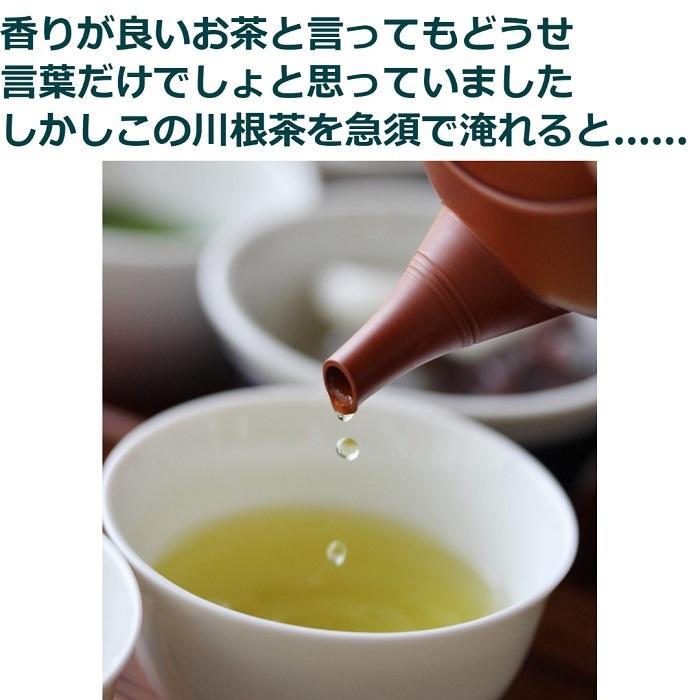 緑茶 茶葉 便秘 解消 お茶 令和2年度新茶【生真面目茶師が作った飲んで食べる川根茶100g4袋セット】|toshinsabo|02