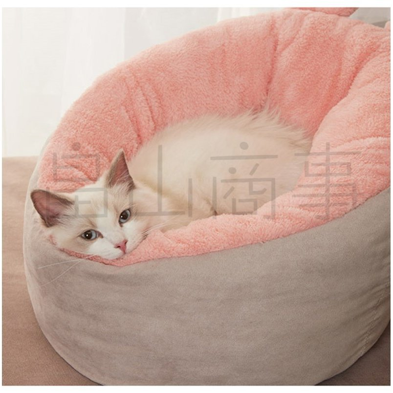 ベッド クッション 猫 キャット 小型犬 冬用 ハウス あったか ベッド クッション ペット用寝袋 保温防寒 ドーム型 ふわふわ 暖かい toshiya0912 04