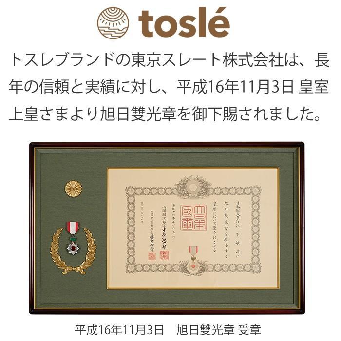 トスレ 北海道稚内産珪藻土マット スクエアモダンドットラインM tosle|tosle|17