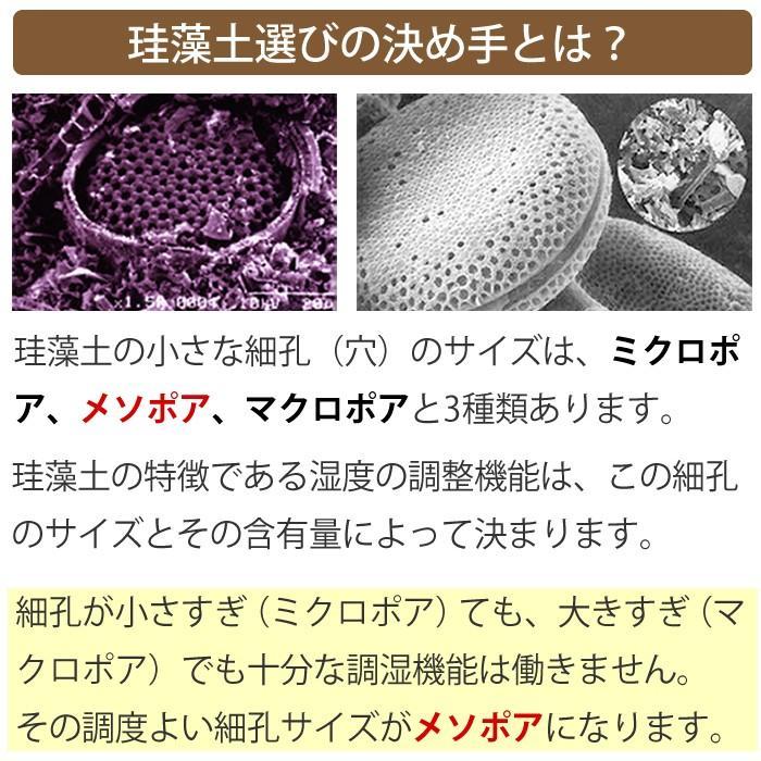 トスレ 北海道 珪藻土 コースターサークル プレーン 2枚組|tosle|07