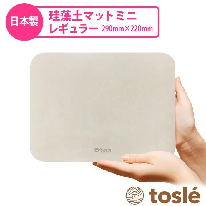 トスレ 北海道稚内産珪藻土マットミニ レギュラー RG regular tosle