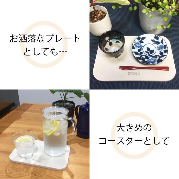 トスレ 北海道稚内産珪藻土マットミニ スモール sm small|tosle|06