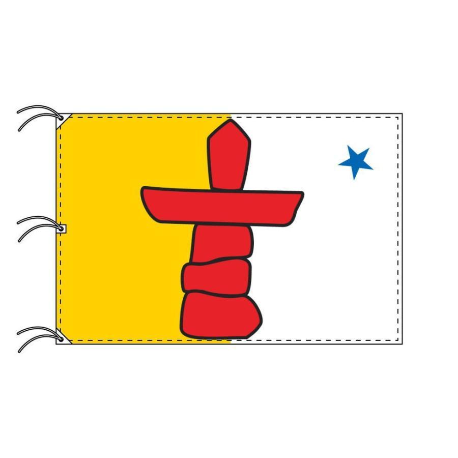 ヌナブト準州 カナダ州の旗 州旗 140×210cm :446204-07:トスパ世界の ...