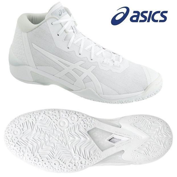 アシックス(asics) GELバースト 23-wide 男女兼用 バスケットボールシューズ ホワイト×ホワイト 1061A014-101