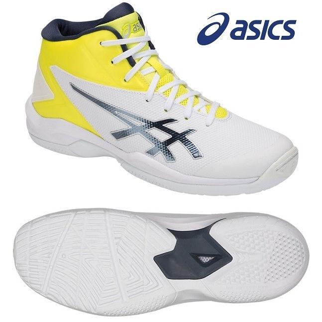 アシックス(asics) GELプライムショットSP 4 男女兼用 バスケットボールシューズ ホワイト×タールマック TBF140-108