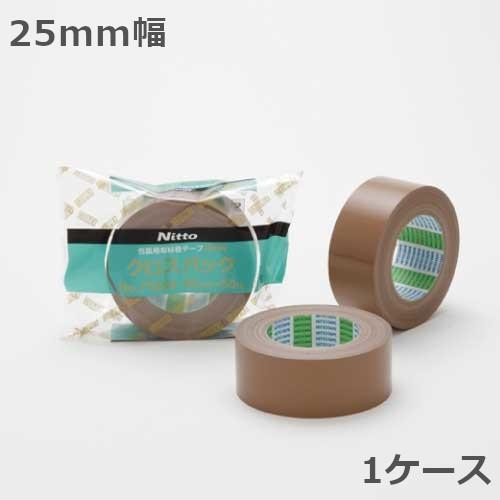 布テープ 日東電工 クロスパック No.7585N 25mm幅×50m巻 60巻入×1ケース(北海道・沖縄・離島も送料無料)