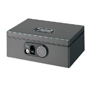 (業務用3セット) プラス F型手提げ金庫 ダイヤル錠&鍵併用タイプ CB-020F ダークグレー ds-1741297