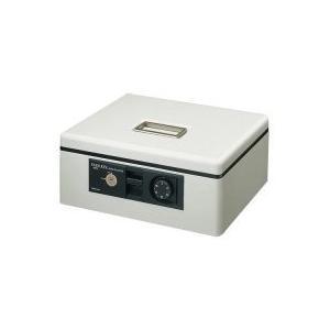 コクヨ 手提金庫ダイヤル付 A4 W360×D285×H150mm ライトグレー 1台 1台