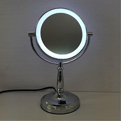 卓上 ミラー 鏡 卓上型 卓上型 LEDミラー ACコードタイプ
