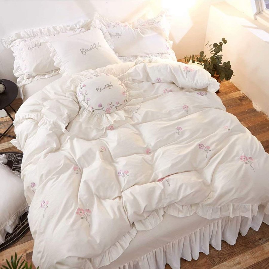 掛け布団カバー 布団カバー ベッドカバー ベッドシーツ 枕カバー カバーリング 掛け布団カバー3点セット 4点セット ベット用セット ベッド