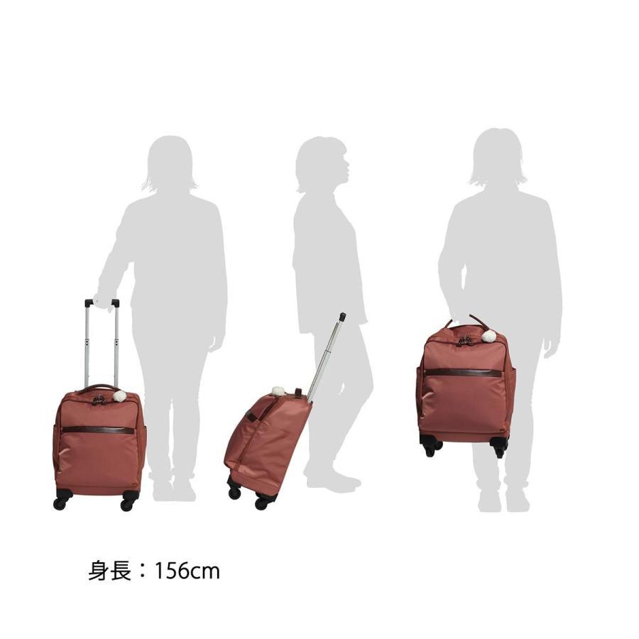 カナナ プロジェクト スーツケース等 カナナマイトロリー サイレントキャスター搭載 ソフトキャリー 100席以上機内持込み対応 南京錠付き