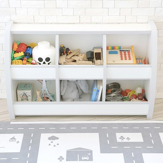 おもちゃ箱 収納 ソフト素材おもちゃ箱 Curios(ホワイト) 【ノベルティ対象外】