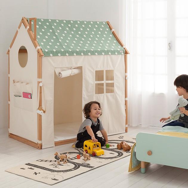 プレイハウス キッズテント キッズルーム こども部屋 HOPPL ホップル ホップルハウス+プレイ