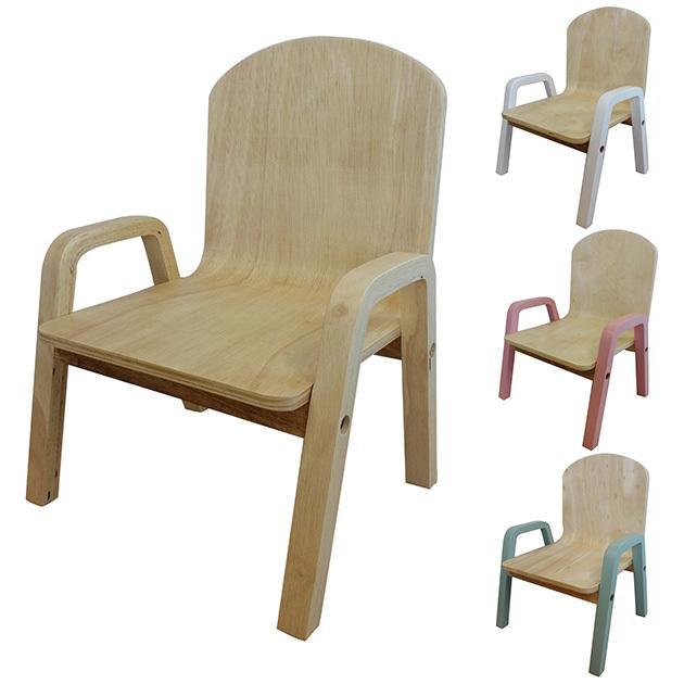 スタッキング こども用 イス 椅子 営業 キッズチェア RURU 正規品送料無料 シモオカ