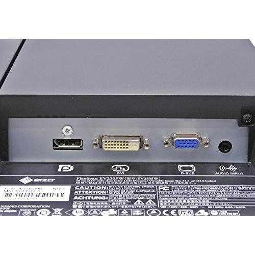 ポイント5倍 23型液晶モニター EIZO製 FlexScan EV2335W 23インチ薄型液晶大画面 映り良い 1920×1080 IPS FHD DVI+RGB+DP入力 10000h未満|touhou-shop|03
