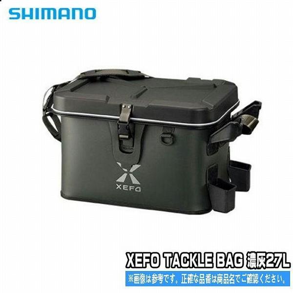 XEFO タックルバッグ BK-201Q タングステン 27L シマノ SHIMANO