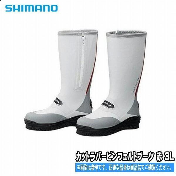 カットラバーピンフェルトブーツ FB-031Q グレー3L シマノ SHIMANO
