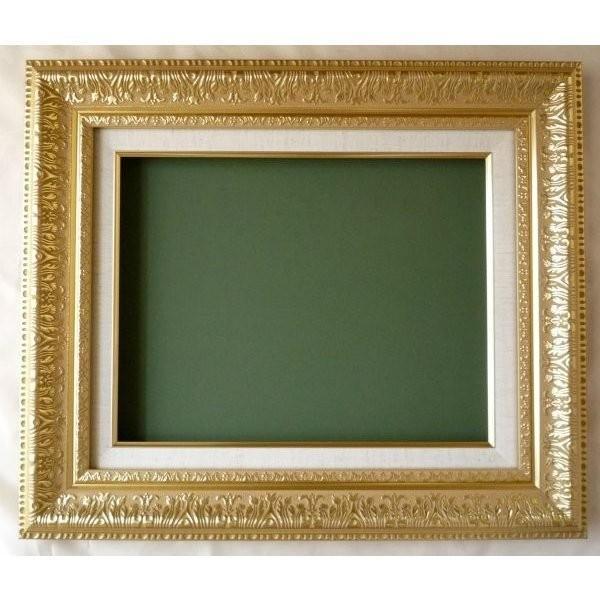 油絵額縁 油彩額縁 樹脂製フレーム MJ108 サイズF8号|touo2