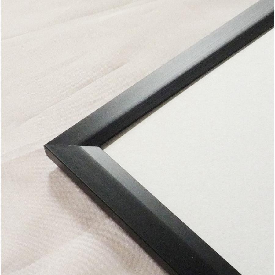 OA額縁 ポスターパネル アルミフレーム Jパネル サイズ600X500mm ブラック|touo|03