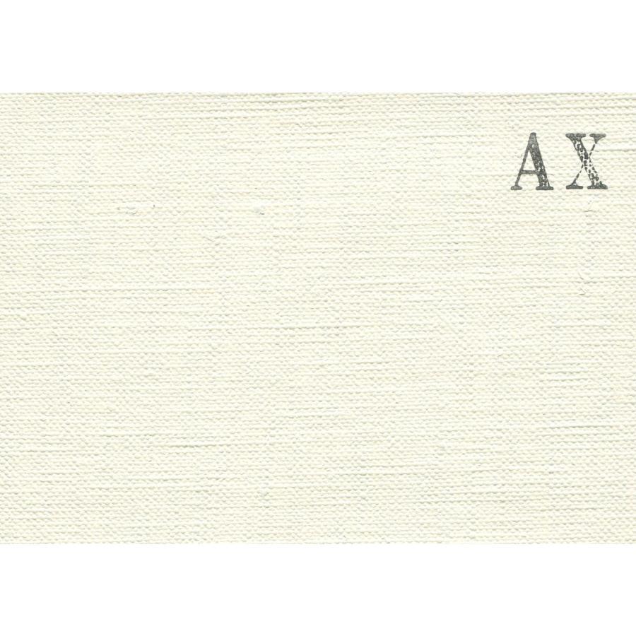 画材 油絵 アクリル画用 張りキャンバス 純麻 中目荒目 AX S15号サイズ 10枚セット