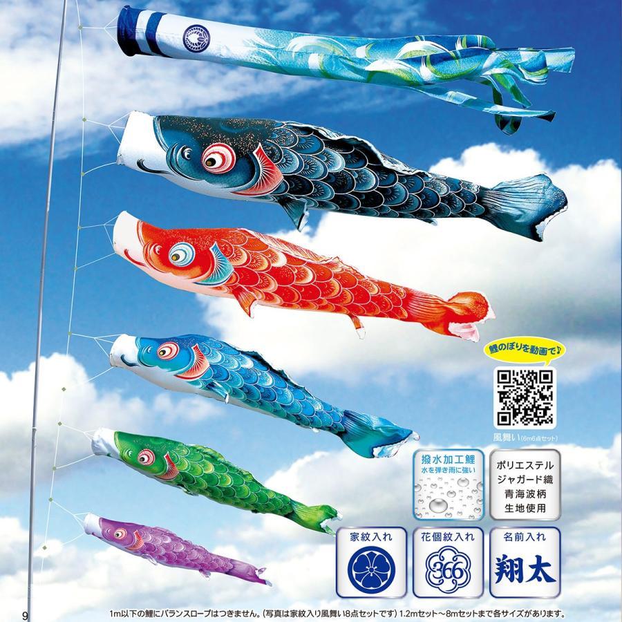 風舞い 1.5m 点 プレミアムベランダスタンドセット(水袋式)