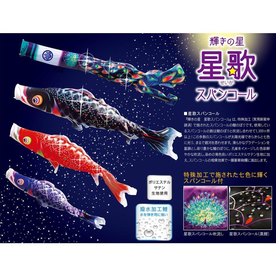 星歌スパンコール1.5m プレミアムベランダスタンドセット(水袋式)