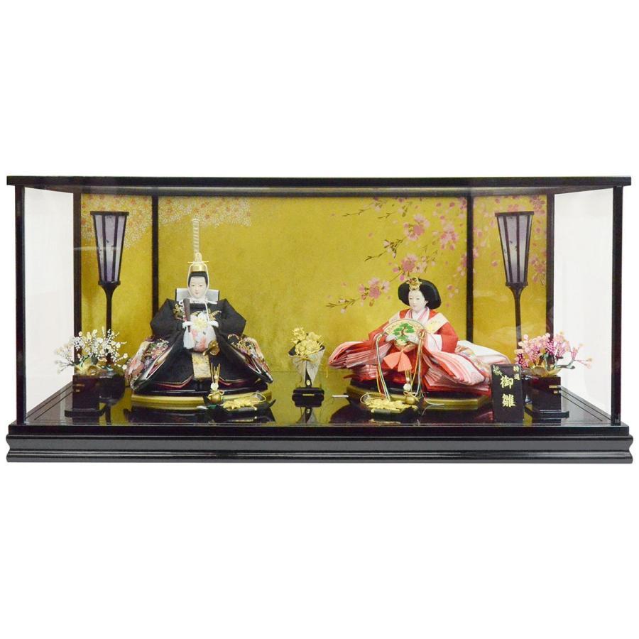 【メーカー公式ショップ】 ケース親王飾り 「花宴(はなのえん)」 KH1743-季節玩具