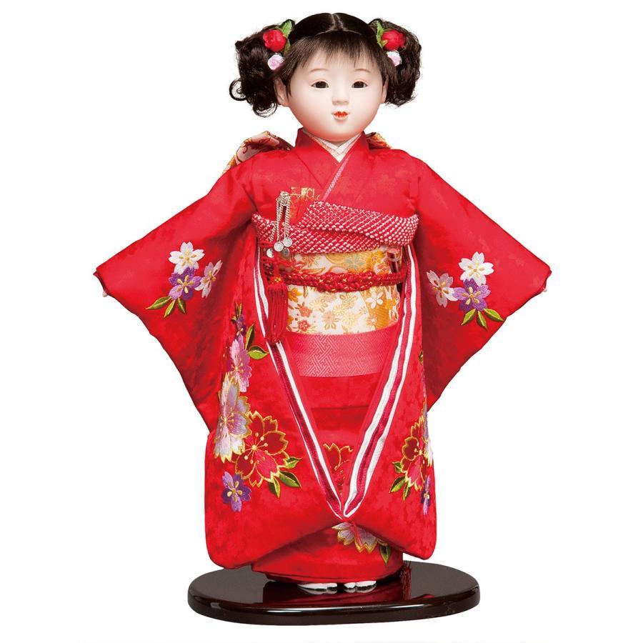 市松人形 13号 刺繍 #13008 高さ48cm
