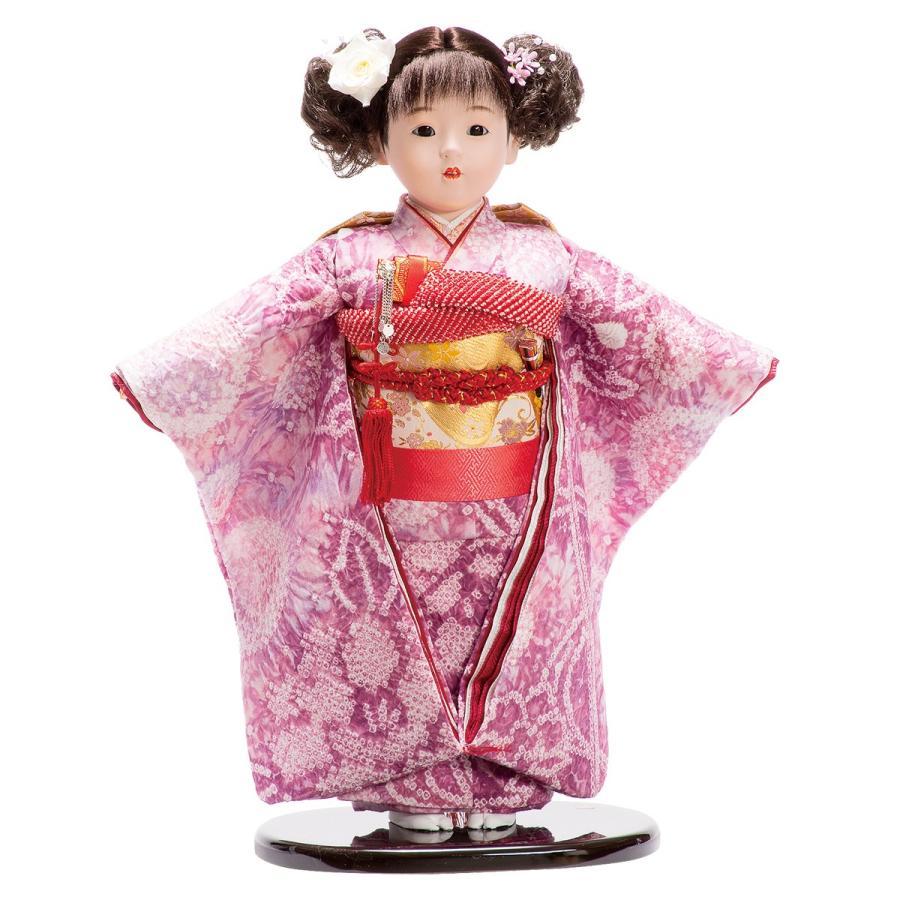 市松人形 13号 有松 紫 #1370 高さ48cm