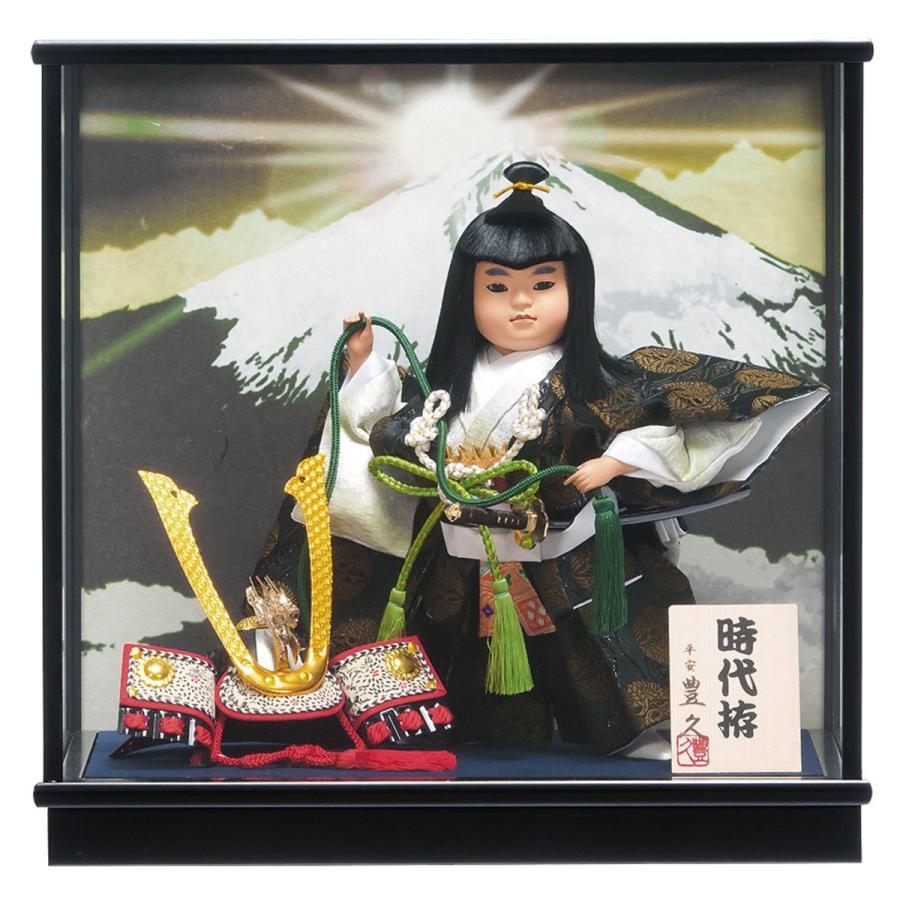 童ケース飾り「時代拵(じだいづくり)」7号 間口39cm
