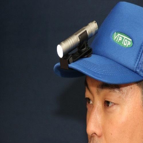VipTop 帽子用ペンライトホルダー 10個セット 便利 プロ御用達
