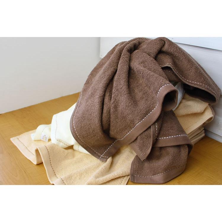 バスタオル 同色4枚セット オーガニックステッチ 約60×120cm オーガニックコットン まとめ買い towelmall 04