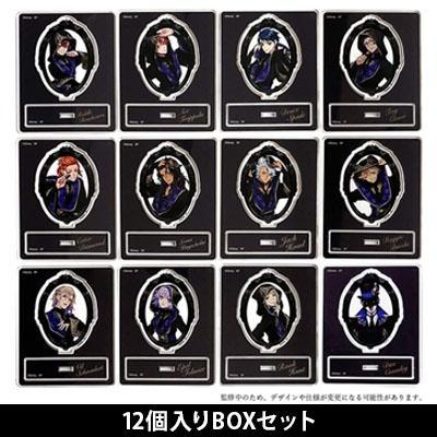 ディズニー ツイステッドワンダーランド ブラインドアクリルスタンドコレクション 式典服 Vol.1(12個入りBOX) Accessories