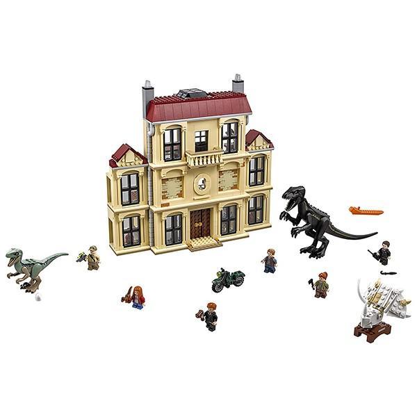 レゴ(LEGO) ジュラシック・ワールド インドラプトル、ロックウッド邸で大暴れ 75930