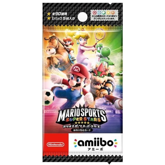 amiibo 『マリオスポーツ スーパースターズ』amiiboカード【1パック(5枚入り)】  toy24shop