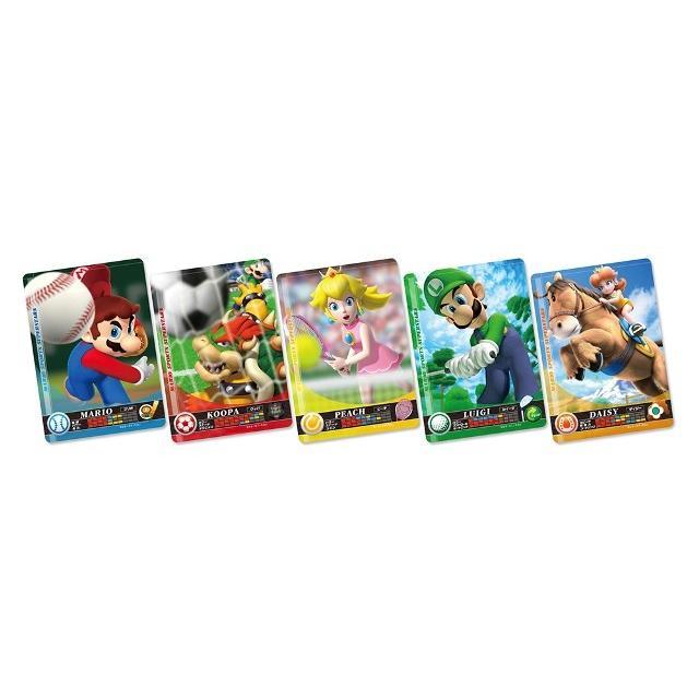 amiibo 『マリオスポーツ スーパースターズ』amiiboカード【1パック(5枚入り)】  toy24shop 02