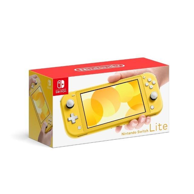 送料込 Nintendo Switch Lite本体 イエロー